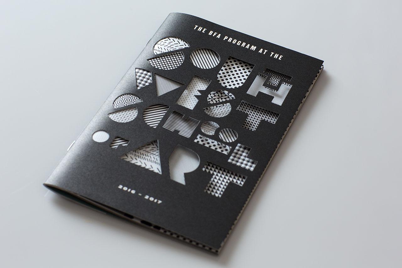 Die Cut Cover Sample Work Commercial Printing