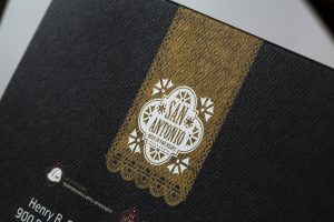 foil stamp | metallic ink | specialty fold
