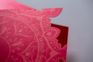 die cut | raised ink | emboss | specialty ink