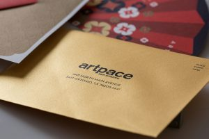 metallic paper | metallic ink | specialty fold | die cut