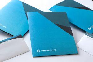 branded letterhead | custom folder